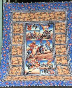 motocross quilt