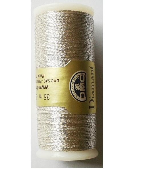 Metallic Embroidery Thread DMC Diamant Range (4 colours)