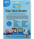 Print-stitch-dissolve