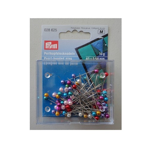 Prym pearl head pins