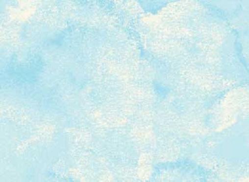 Sky Watercolour Light Blue Katipatch Patchwork
