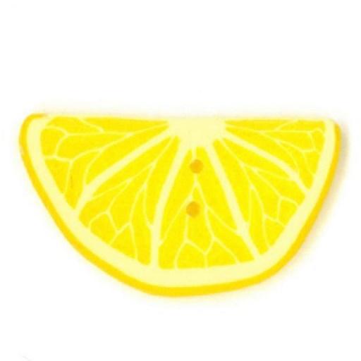 Half Lemon Slice Button 2 Sizes Katipatch Patchwork