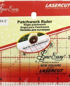 4half inch square ruler