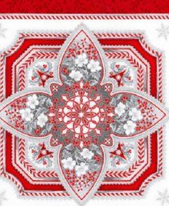 Holiday Flourish Silver block