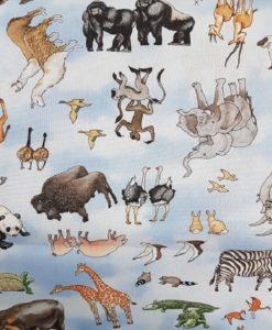 Noah's Ark Tossed Animals