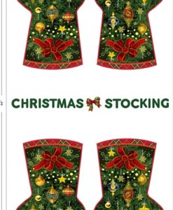 Seasons Greetings Stocking