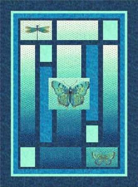 Flight of Fancy Quilt 1