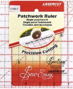 6half inch square ruler