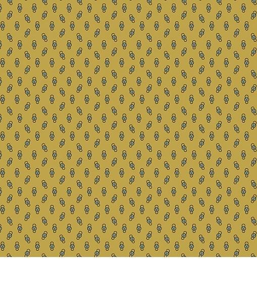 Little House - Mansfield Mustard print