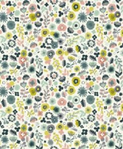 Modern Retro Ditzy Floral