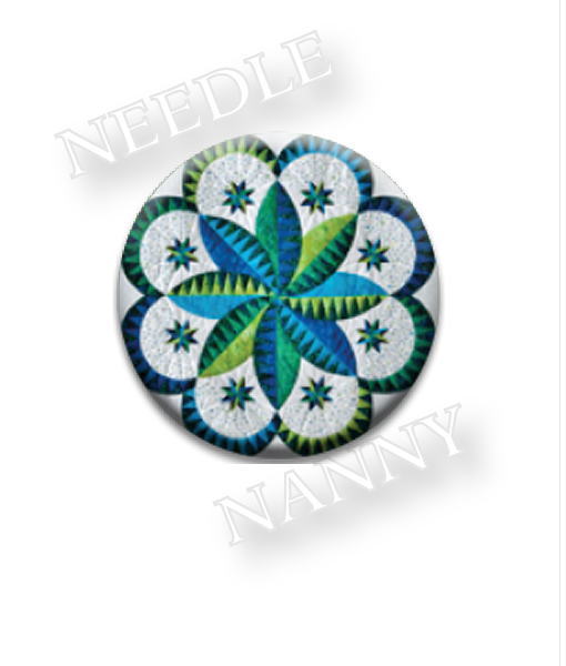 Needle Nanny Blue & Green