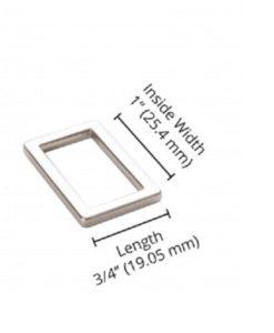 1-inch-nickel rect ring