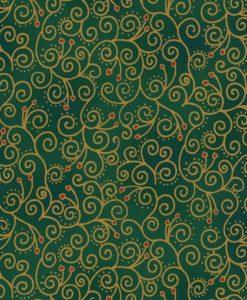 Amazing Stars - Scrolls Green