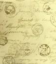 Mrs March Postmark Script