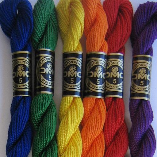 DMC Perle 5 Thread Range (9 colours)